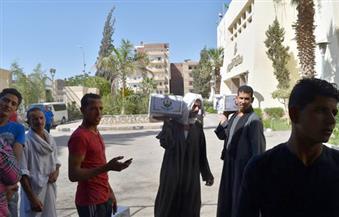 محافظة الفيوم توزع دفعة جديدة من كراتين رمضان على الأسر الأولى بالرعاية
