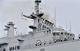 ننشر تفاصيل الاحتفال بوصول أول حاملة طائرات بالشرق الأوسط للميناء العسكري بالإسكندرية