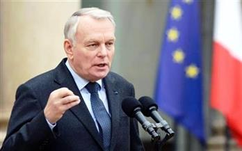 """وزير الخارجية الفرنسي: """"صلافة"""" روسيا وسوريا """"لم تعد تحتمل"""".. والذين يغلقون أعينهم سيتحملون مسئولية ذلك"""