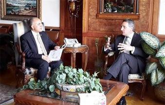 وزير الري يلتقي السفير الهولندي بالقاهرة للتباحث حول مشروعات إدارة المياه