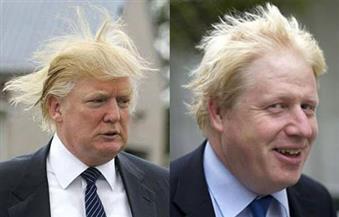 """بالصور.. جمعهما محل الميلاد والشعر الأشقر وانتقاد المسلمين.. """"جونسون"""" الوجه الإنجليزى من """"ترامب"""" الأمريكى"""