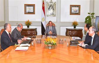 وزير الري يستعرض جهود تطهير الموارد المائية للرئيس.. والسيسي: لابد من القضاء على ورد النيل