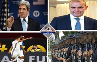 هزيمة أمريكا.. جرحى واعتقالات بالجزائر.. جودني رئيسًا لأيسلندا.. برنامج ميشيل أوباما للفتيات بنشرة السادسة