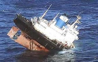 غرق مركب خدمات بترولية دون خسائر برأس غارب