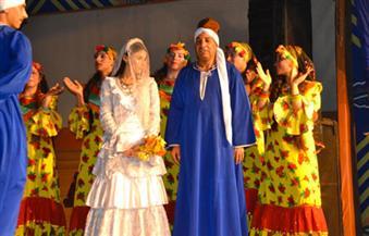"""بالصور.. فرقة """"بورسعيد للفنون الشعبية"""" تختم فعاليات معرض فيصل للكتاب"""