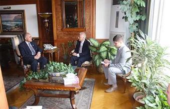 وزير الري يبحث مع سفير بيلاروسيا فرص التعاون المشترك لإدارة الموارد المائية