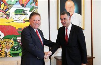 بعد مباحثات مع السفير المصرى..  وزير الزراعى البرازيلى: مصر شريك رئيسى فى إفريقيا والشرق الأوسط