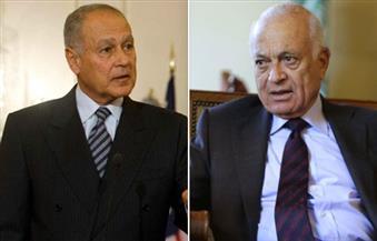 لقاء تسليم وتسلم بين العربي وأبو الغيط بالجامعة العربية