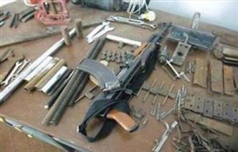 ضبط 8 قطع أسلحة نارية غير مرخصة وكمية من الذخيرة الحية بالمنوفية