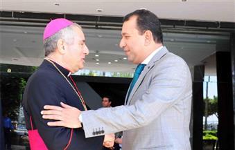 بالصور.. سفير دولة الفاتيكان يزور الأقصر