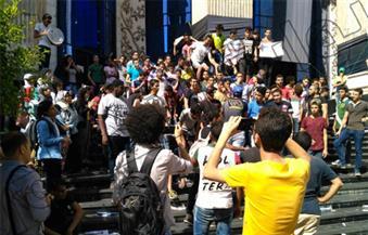 """بالصور .. تزايد ملحوظ فى أعداد طلاب الثانونية العامة أمام """"الصحفيين"""""""