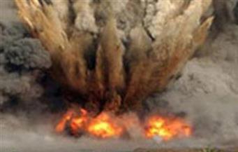 استشهاد ضابط ورقيب وإصابة ضابطين ومجند في انفجار عبوة ناسفة على جانب الطريق الدائرى بالعريش