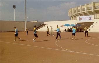 """بالصور.. مباراة بين """"الشرطة والجيش"""" برعاية مديرية أمن الغربية بمناسبة  30 يونيو"""