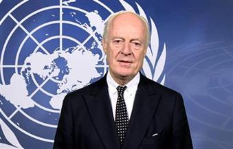 """دي ميستورا سيطرح """"مبادرة سياسية"""" حول سوريا خلال الجمعية العامة للأمم المتحدة"""