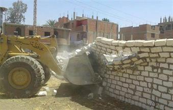 حملة لإزالة التعديات على الأراضي الزراعية شرق الإسكندرية