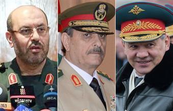 """اجتماع لوزراء دفاع روسيا وسوريا وإيران الخميس في طهران للبحث في """"مكافحة الإرهاب"""""""