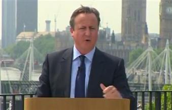 مشرعون من المتشككين تجاه الاتحاد الأوروبي يحثون كاميرون على الاستمرار في منصبه