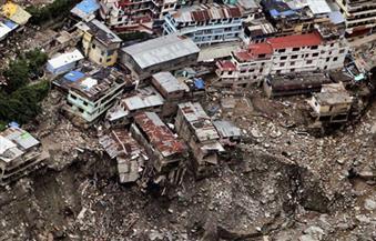 مقتل 11 شخصاً جراء الأمطار والانهيارات الأرضية في شمال الهند
