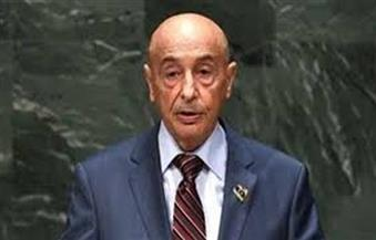 رئيس البرلمان الليبي يؤكد للمبعوث الأممي لدي بلادة الالتزام بعملية الحوار والاتفاق السياسي