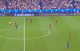 إيدير يسجل هدفًا قاتلًا للبرتغال في مرمى فرنسا في الدقيقة 109