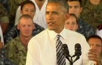 بالفيديو.. أوباما يدعو أوروبا للتوحد في مواجهة التهديدات والتحديات الراهنة