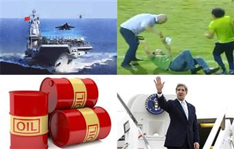 حبس حسام حسن.. أسعار النفط.. منتقمي النيجر.. جولة كيري.. مرشح القانون.. صراع الصين.. بنشرة السادسة صباحًا