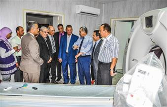 محافظ ورئيس جامعة كفر الشيخ يتفقدان المستشفى الجامعي الجديد تمهيدًا لافتتاحه فى أغسطس