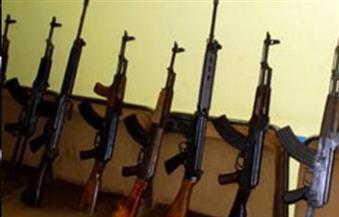 ضبط 12 بندقية آلية فى حملة أمنية على مركز أبنوب بأسيوط