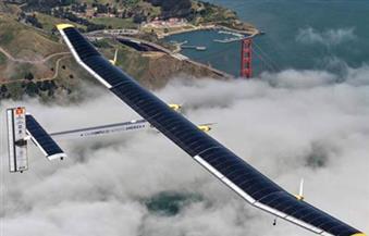 سولار إمبالس 2 الطائرة الوحيدة فى العالم التي تعمل بالطاقة الشمسية تصل مصر