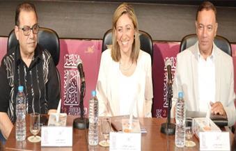 """بالصور.. """"الكيلاني"""": مؤتمر القاهرة لفنون الخط العربي وُلد ليعيد لمصر مكانتها التي تستحقها"""