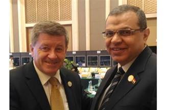 سعفان يلتقي مدير منظمة العمل الدولية علي هامش اجتماع مجموعة العشرين ببكين.. وأول انتخابات نقابية خلال 60 يومًا
