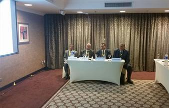 """بالصور.. """"السموم والمنتجات الدوائية"""" في مناقشات اليوم الثالث للمنتدى البيئى الدولى بجامعة طنطا"""