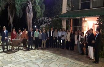 السفير المصري في البرازيل يُنظم حفل وداع لنائبه