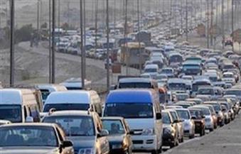كثافات مرورية عالية بمحور 26 يوليو للقادم من ميدان لبنان