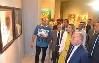 """بالصور.. وزير الثقافة يفتتح """"ملتقى القاهرة للخط العربي"""" بقصر الفنون"""