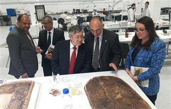 بالصور.. نائب رئيس الوكالة الدولية للطاقة الذرية يزور المتحف المصري الكبير
