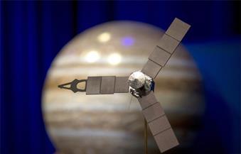 مركبة فضائية تابعة لناسا تقترب من كوكب المشتري
