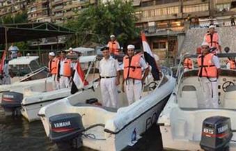 شرطة المسطحات المائية تطارد الطلاب الهاربين من المدارس فى أسوان