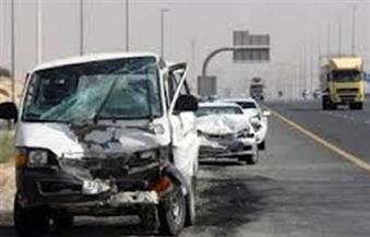 """مصرع 4 أشخاص وإصابة 9 آخرين فى حادث تصادم بطريق """"سفاجا – قنا"""""""