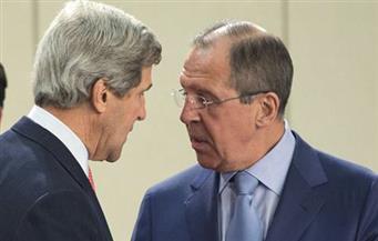 لافروف وكيري يبحثان سبل حل الصراع في سوريا