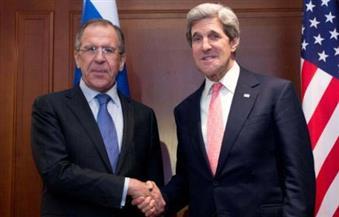 لافروف وكيري يبحثان في اتصال هاتفي سبل إنهاء الصراع السوري
