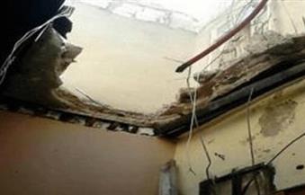 """إصابة 3 سيدات انهار عليهن سقف مركز """"تخسيس"""" بمنطقة سبورتنج بالإسكندرية"""