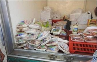 ضبط لحوم فاسدة ومواد تموينية مهربة في حملة على أسواق الإسكندرية
