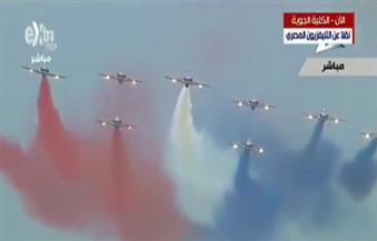 """تفاصيل حفل تخرج الدفعة 83 جوية.. 300 طائرة تُشارك في العرض بجانب """"الرافال"""" والـ """"إف 16"""""""