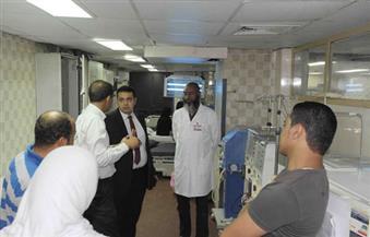 بالصور.. جولة مفاجئة للرقابة الإدارية بالأقصر على المستشفيات
