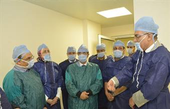 بالصور.. تجهيز أول وحدة لزراعة النخاع العظمي بمعهد أورام أسيوط