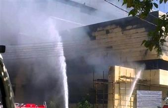 تفاصيل حريق المستشفى الأميري الجامعي بالإسكندرية