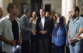"""وزير الآثار يطالب بتحريك دعوى قضائية ضد نادي التجاريين بأسيوط لتعديه على قصر """"ألكسان"""""""