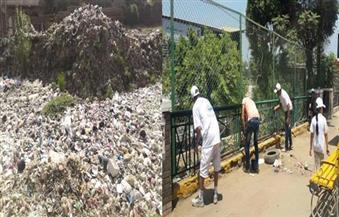 """أهالي القناطر: القمامة تُحاصرنا و""""حلوة يا بلدي"""" اهتمت بالكورنيش فقط.. ومجلس المدينة: نعمل وفقًا لخطة"""