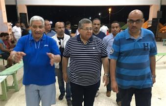 بالصور.. وزير التعليم العالي يزور معسكر جامعة الإسكندرية بباجوش